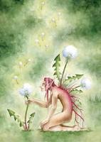 Dandelion Spirit by artofdroth
