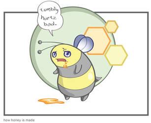 how honey is made by artofdroth