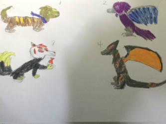 SplatNite Beast Form Adopts - (OPEN)