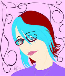 Flash Self Portrait by FalluVaud