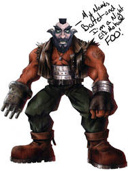 My Names Barret by FalluVaud
