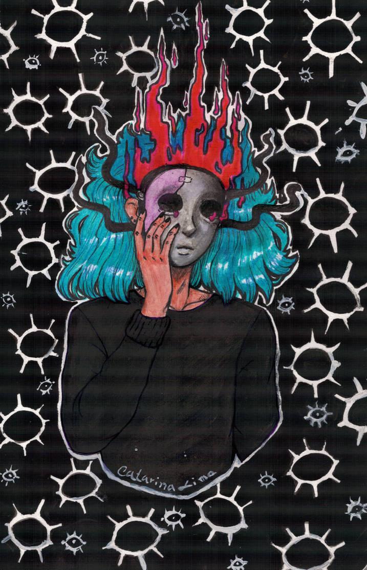Sally Face- It's a mess inside by mylittledeadbunny