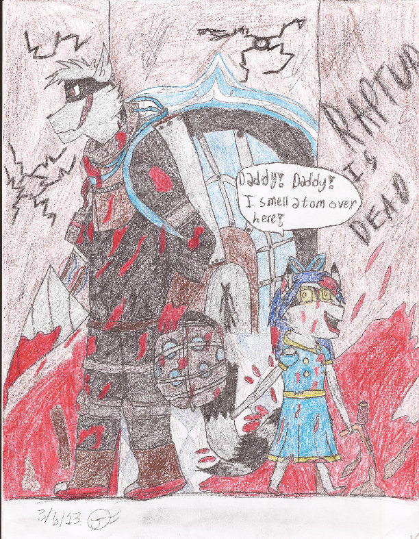 Sly Cooper Bioshock Crossover: Daddy! I smell Adam by GirlontheBench