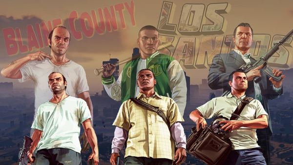 PhotoShop Project: GTA V by TotalZADRFangirl97