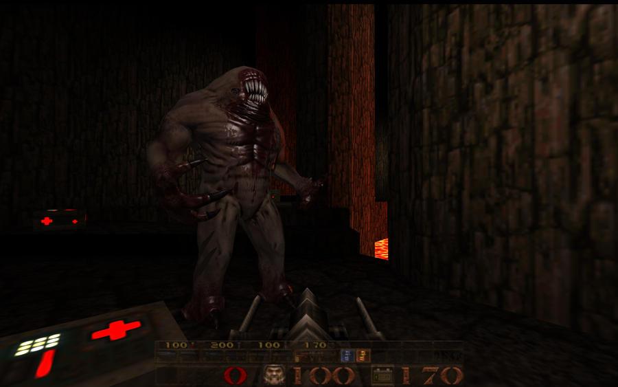QuakeWorld.nu - Horror Movie Type Shambler Quake Shambler