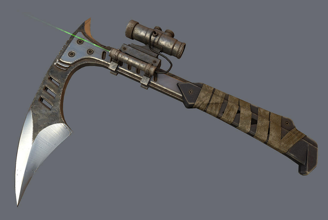 scoped tomahawk by FredrikH