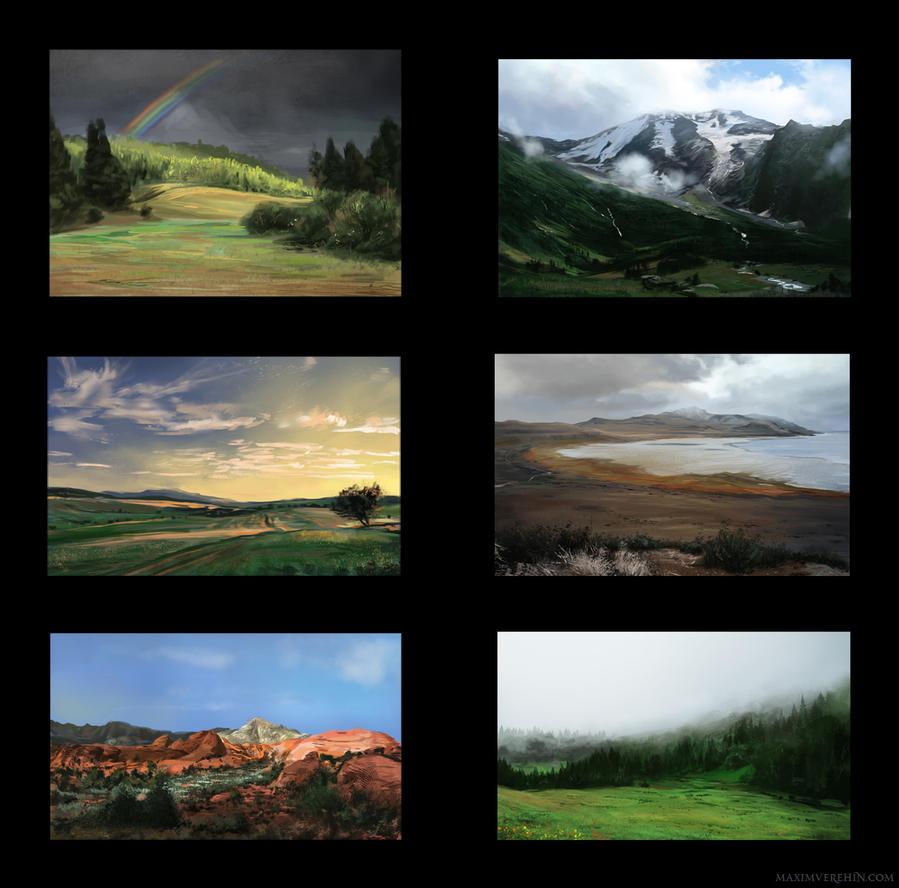 LandStudies by Verehin
