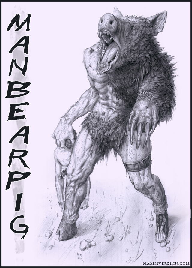 Manbearpig by Verehin