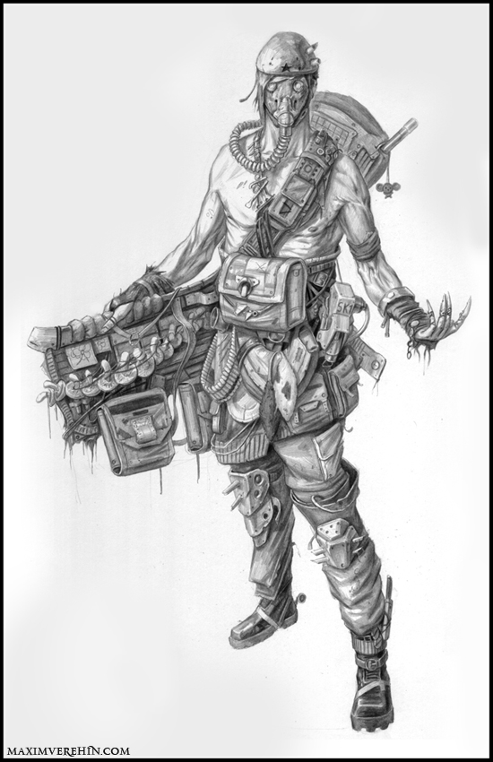 The vagrant trader by Verehin