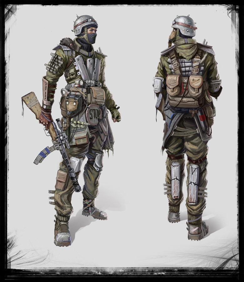 Apocalyptic Soldier Pics: Metro Final By Verehin On DeviantArt