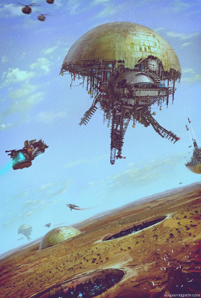 Spaceport by Verehin