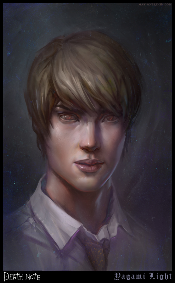 Death Note Yagami Light by Verehin