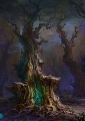 Treehouse by Verehin
