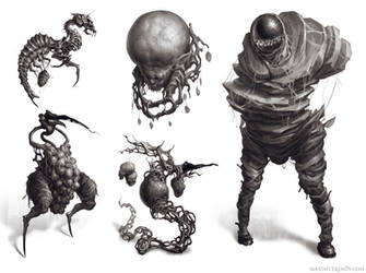 Creatures by Verehin