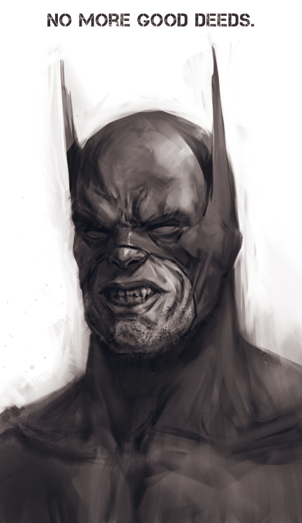 Bad Batman by Verehin