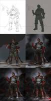 Red General- Steps by Verehin