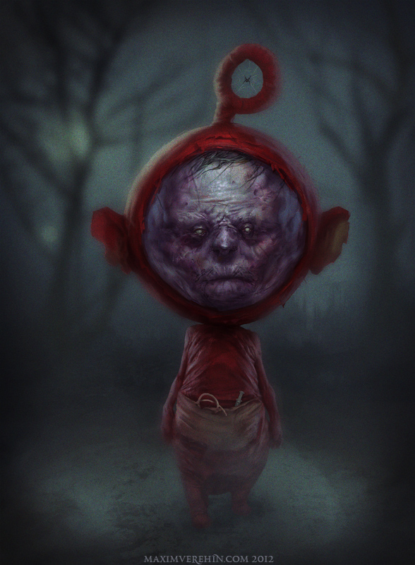 Teletubbies From Hell by danlev on DeviantArt