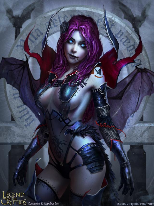 Halloween special- Demon girl by Verehin