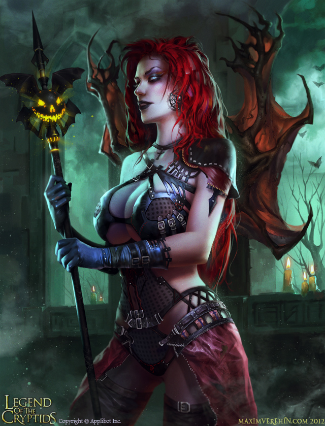 Halloween special- Demoness by Verehin