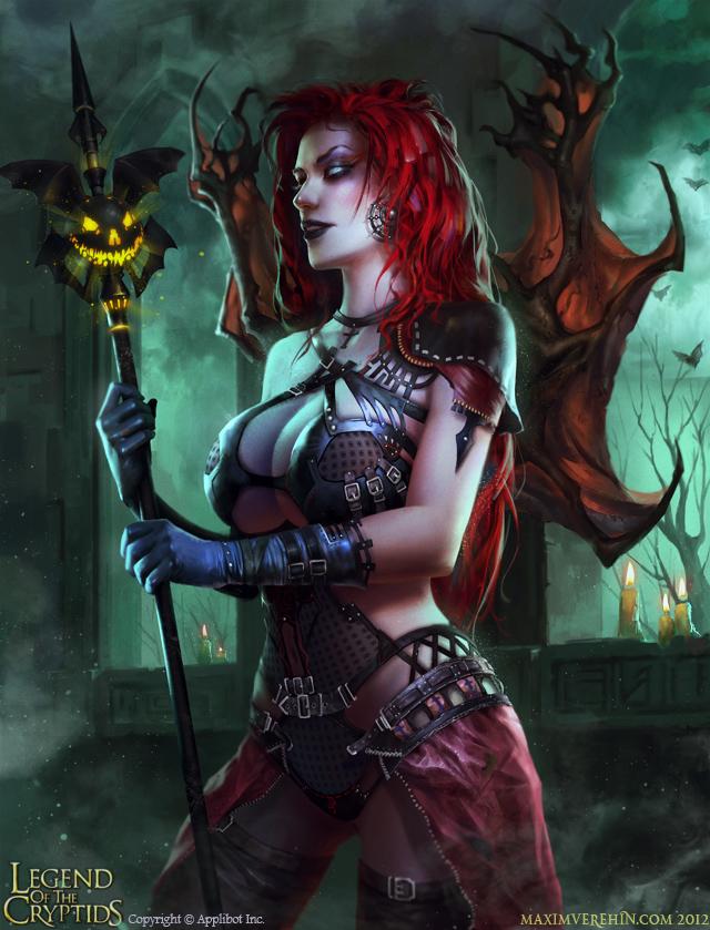 Halloween special- Demoness by Verehin