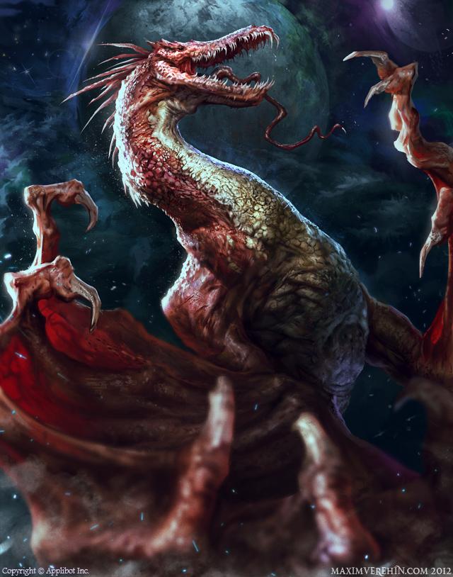 Vampire Dragon by Verehin