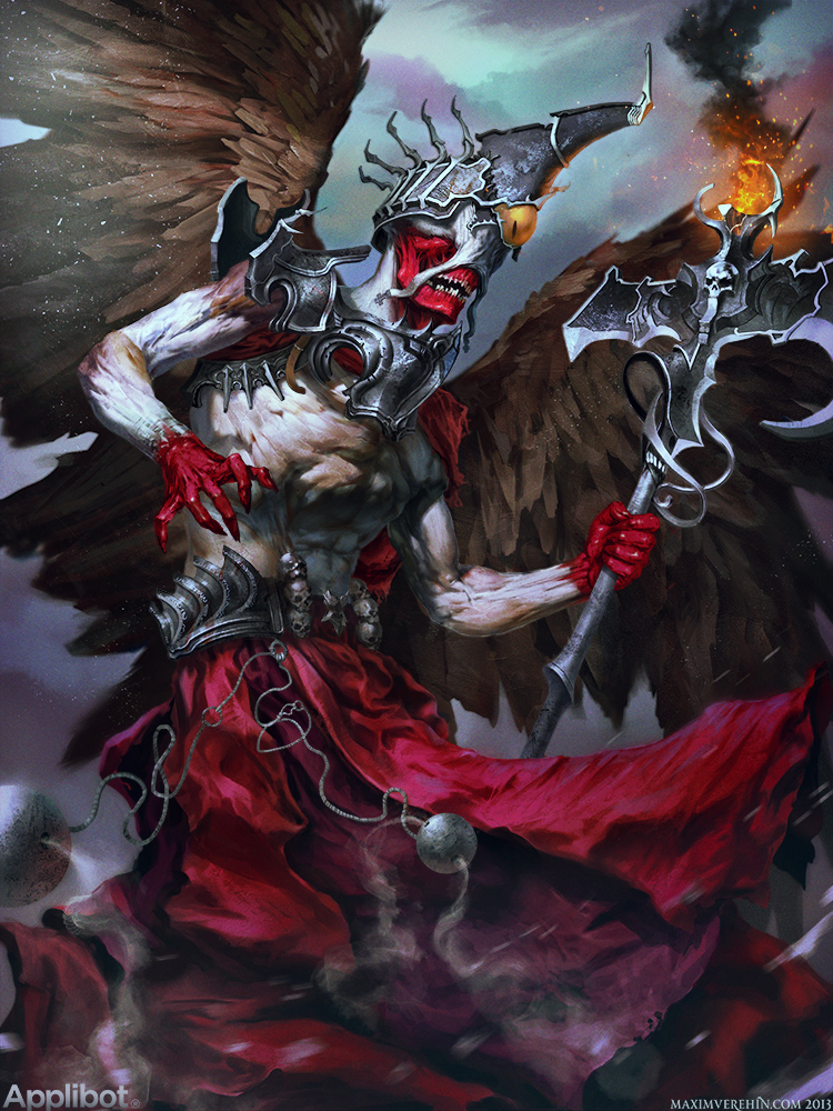 Transcendental Deity by Verehin