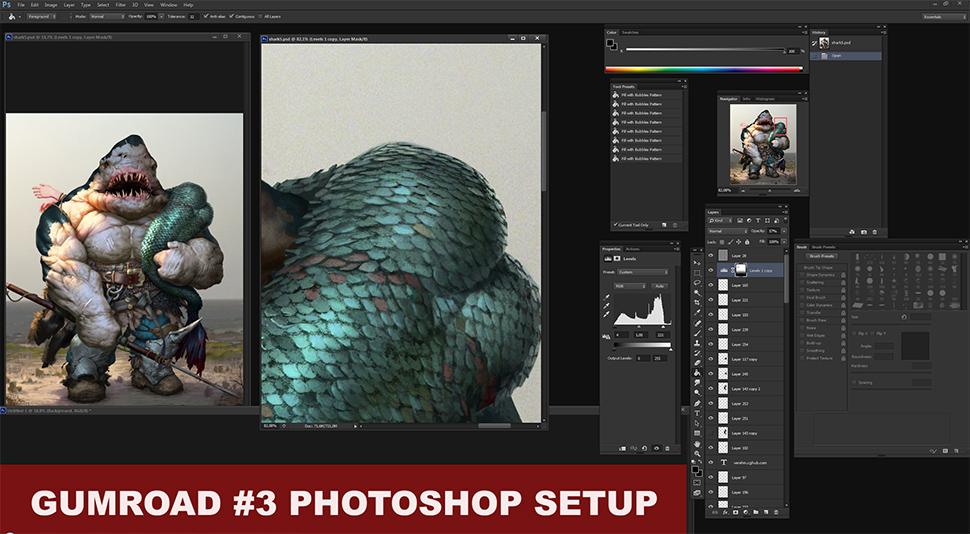 Photoshop setup tutorial by Verehin