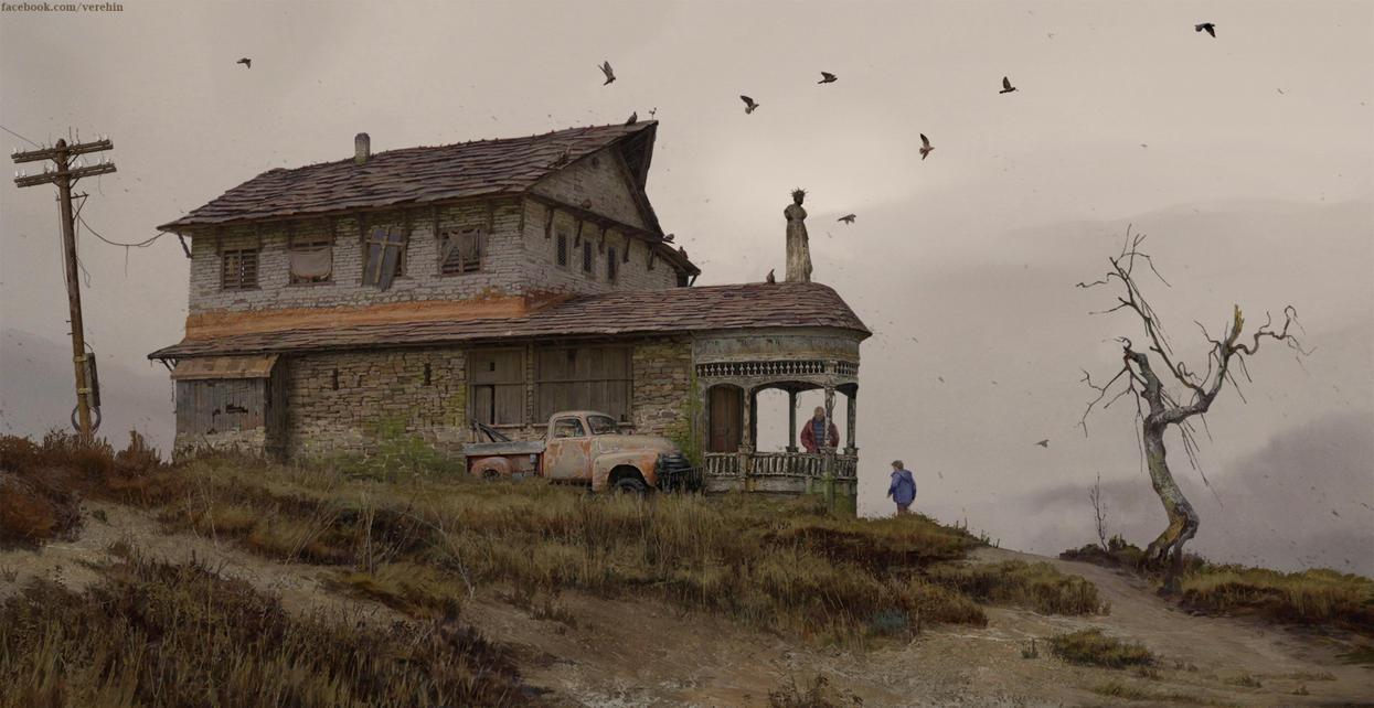 OldEdvards house by Verehin by Verehin