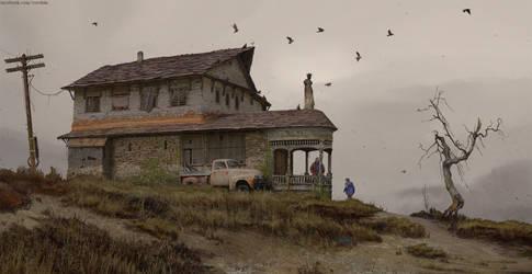 OldEdvards house by Verehin