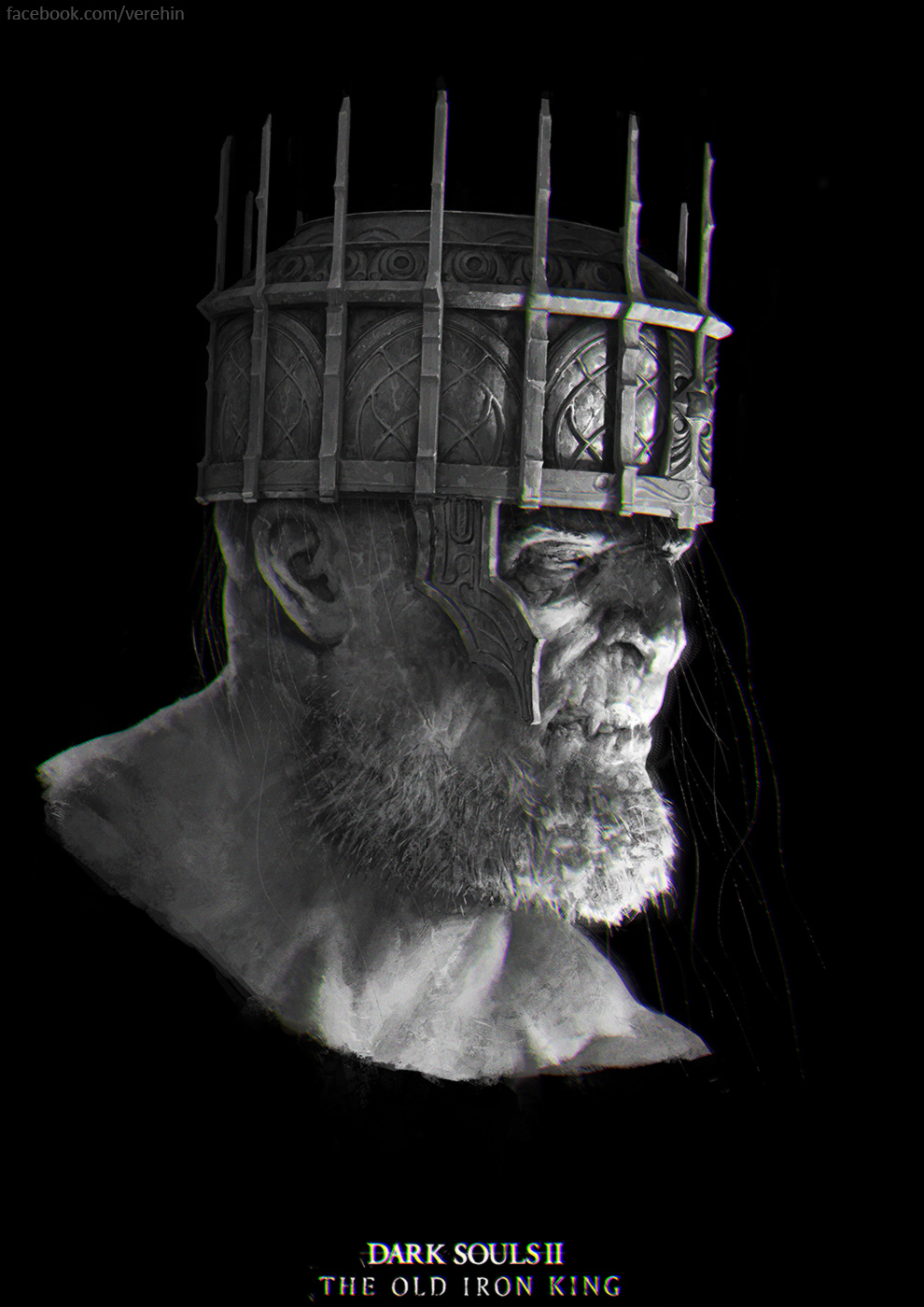 Dark Souls 2  The Old Iron king
