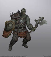 Orc Spellforce3 by Verehin