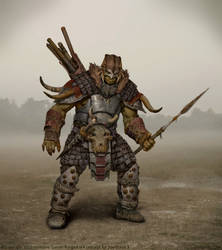 Spellforce 3 Ranged Ork by Verehin