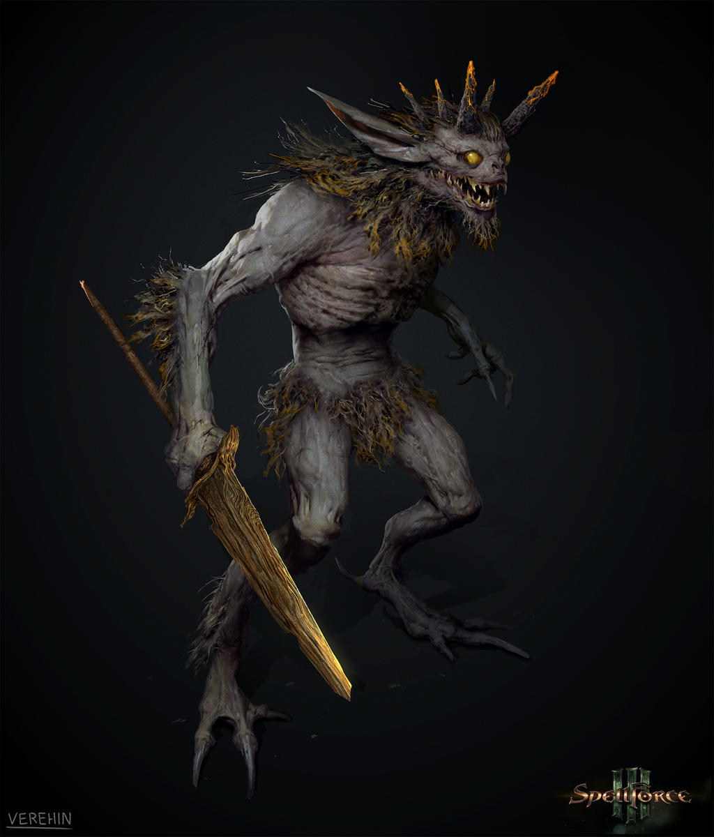 Creature concept for Spellforce 3 by Verehin