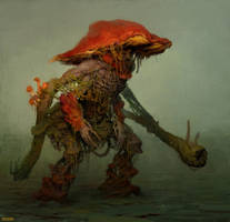 Mushroom soldier by Verehin