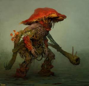 Mushroom soldier