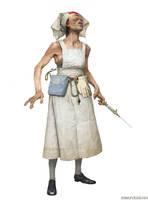 Asylum Nurse by Verehin