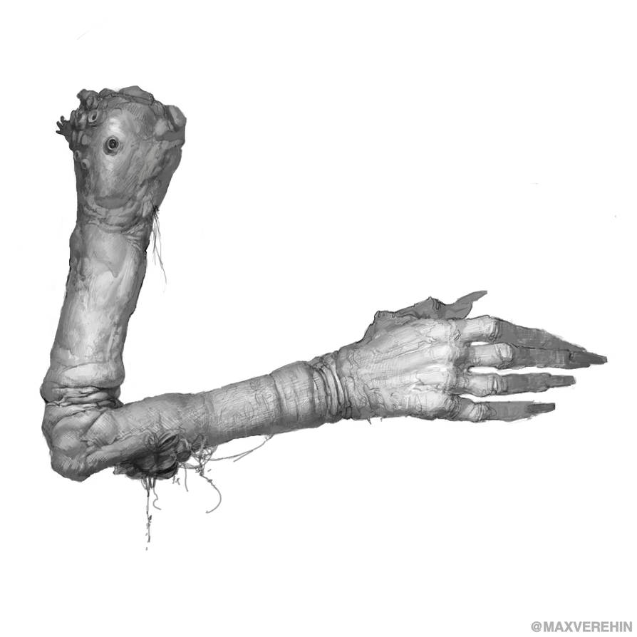 Witch hand by Verehin