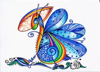 A Dragonfly by bluevelvetine