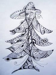 Untitled Tree by bluevelvetine