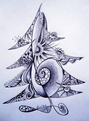 The Christmas Tree by bluevelvetine