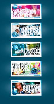 Club Faces 5 flyer
