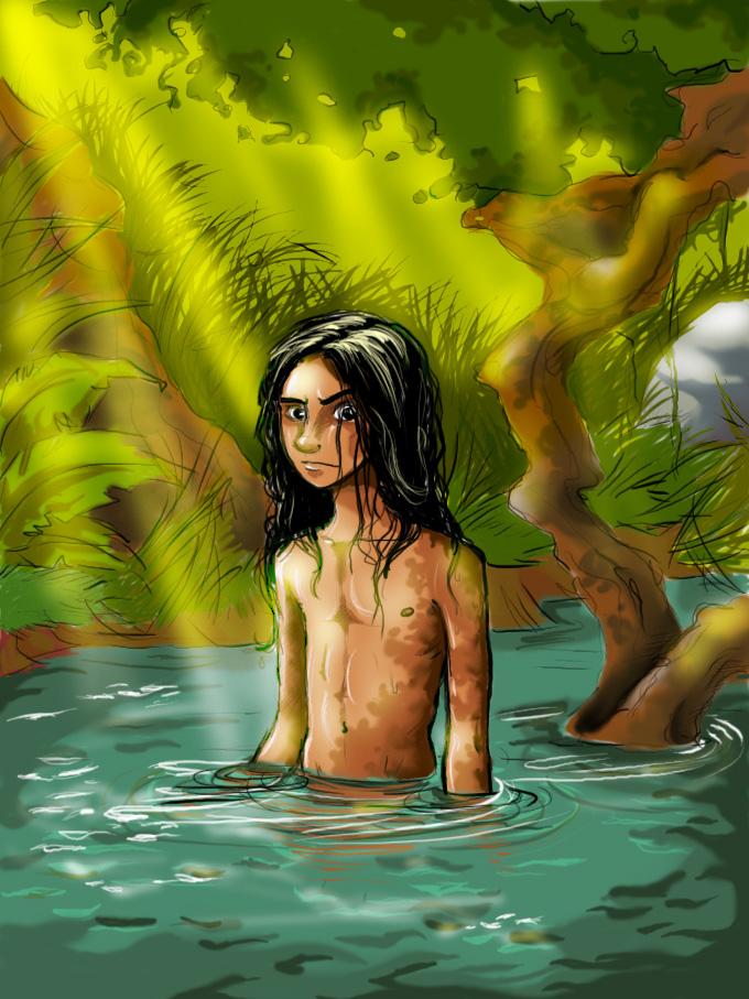 Mowgli again by kookybird