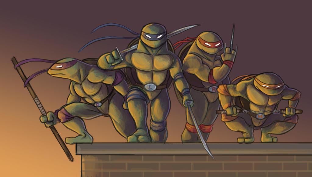 Ninja Turtles step 06 by kookybird