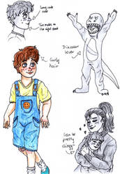 Michael (toddler) reference by AllyN-One