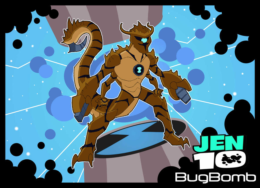 Bugbomb ben 10 by 4elementguru on deviantart