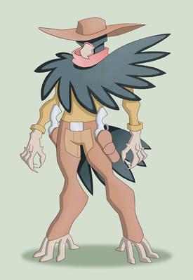 Avian Gunslinger