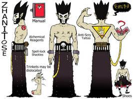 Zhanitose: Trans-Dimensional Roving Warlock
