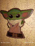 Baby Yoda 3 Final by YuriArtov