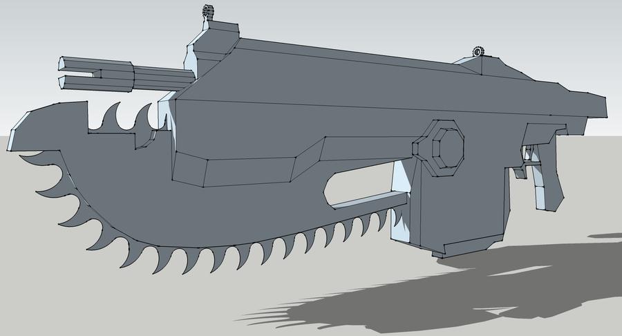 Gears Of War Lancer by Javoid