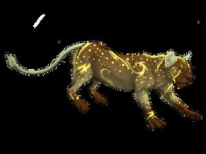 Lion adoptable